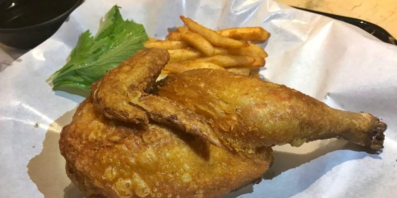 台中北區 千錘新潟醬豬排專門店 台灣首家 吮指回味的炸半雞