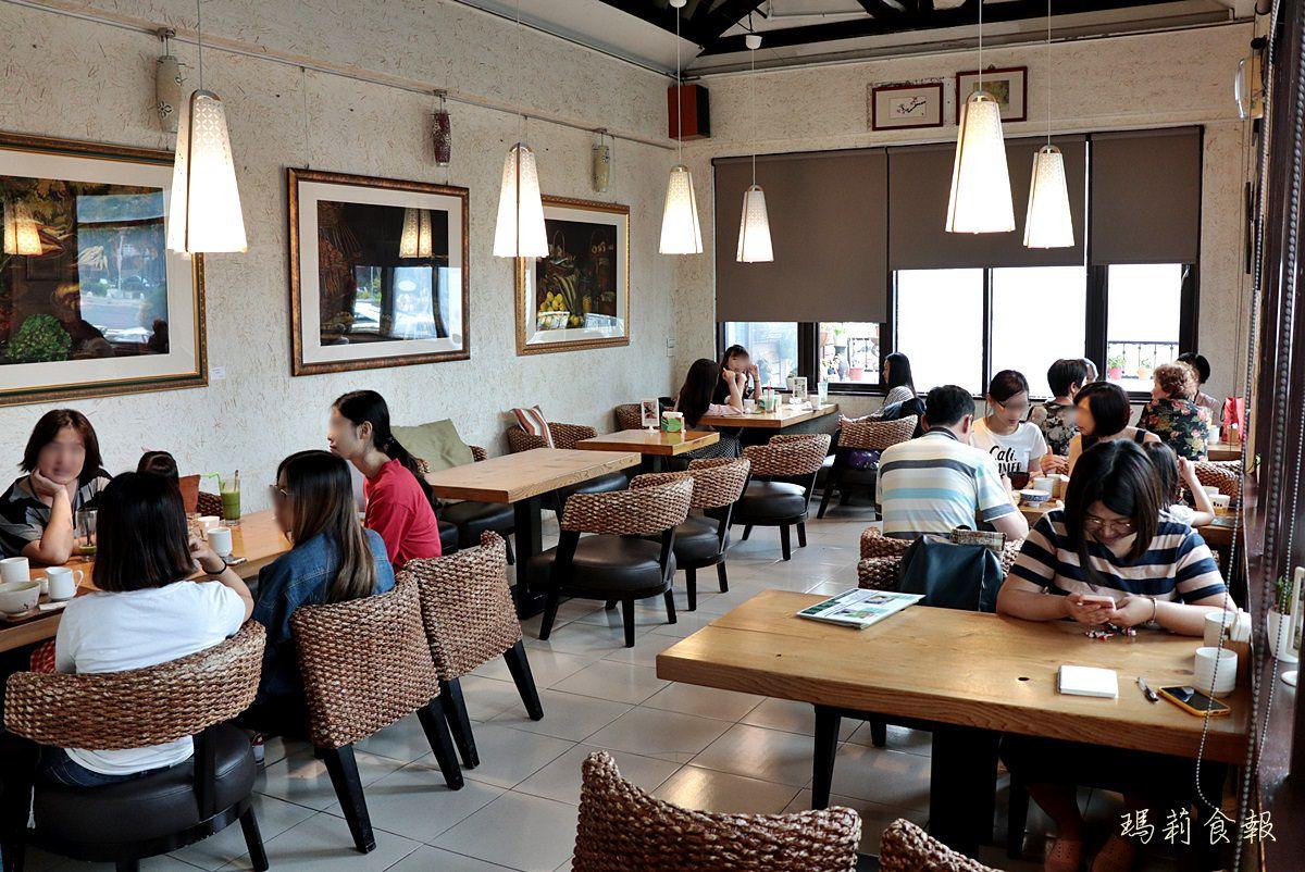 台中北區美食,初綠和風定食抹茶專賣,抹茶鬆餅,台中早午餐