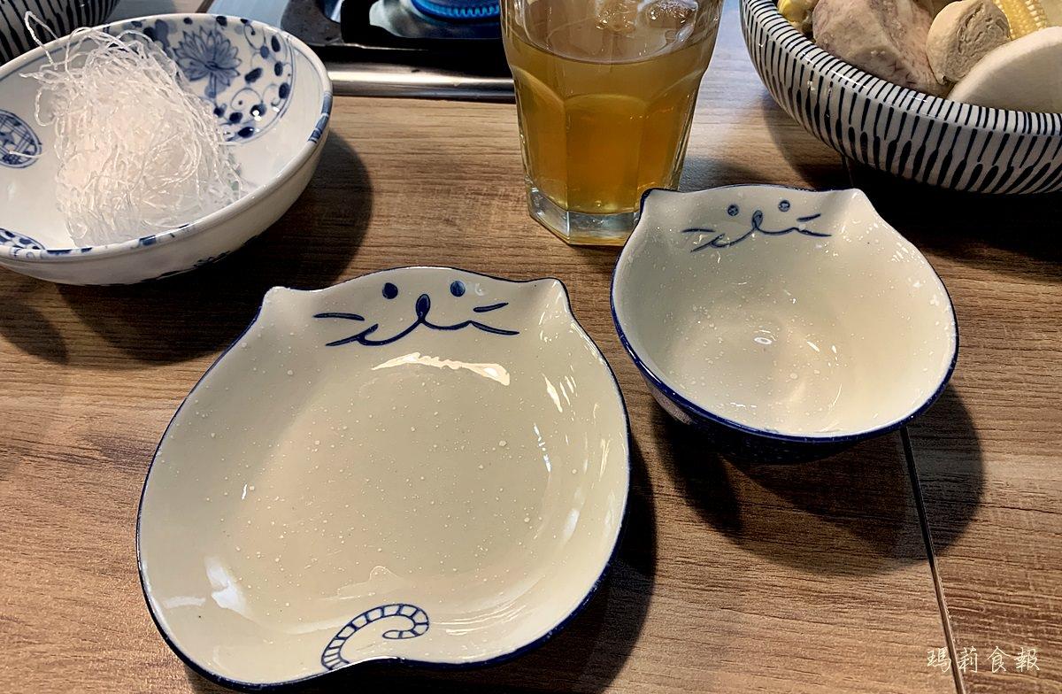 台中西區美食,老式吃鍋,勤美商圈,老式吃鍋的餐具