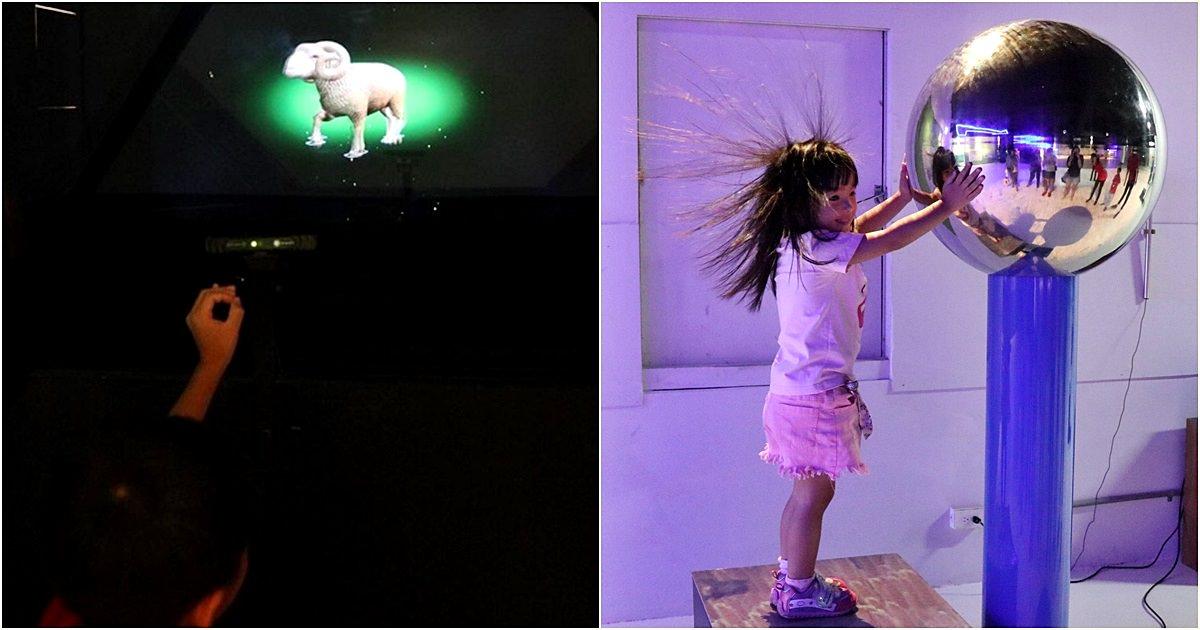 台中觀光工廠,喜晶A光學觀光工廠,VR、AR遊戲互動學習,台中親子旅遊好選擇