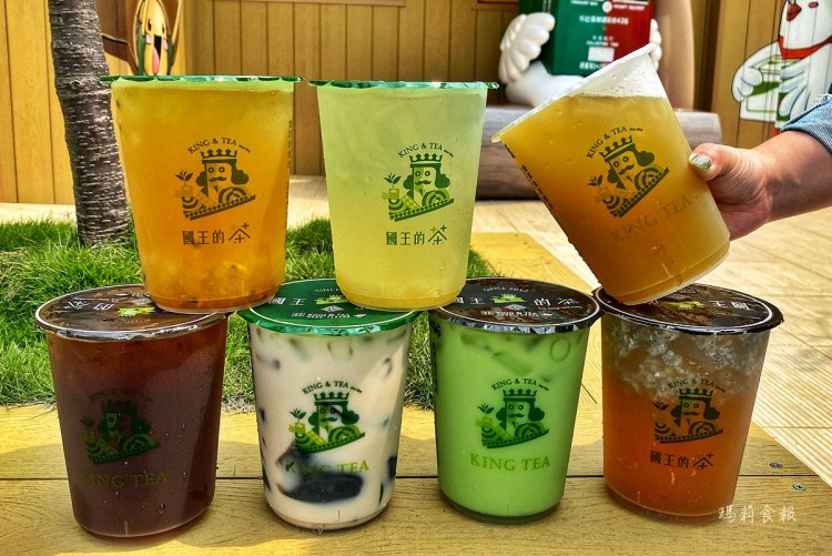 國王的茶 大份量的平價胖胖杯 台中新社中和店開幕期間3/21~30日買一送一優惠中