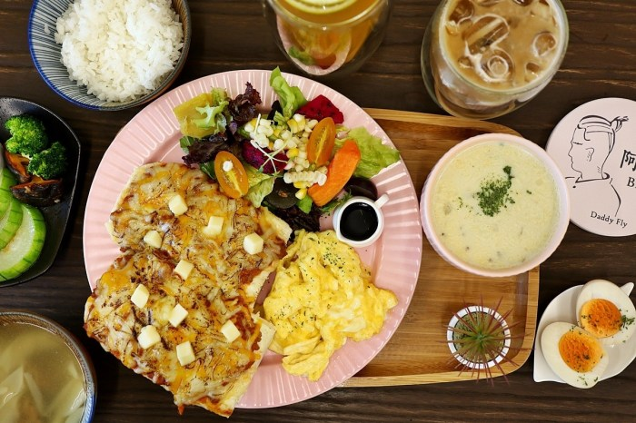 阿飛 Brunch|台中車站附近美食 全日供餐早午餐 菜單MENU、價錢 店家資訊
