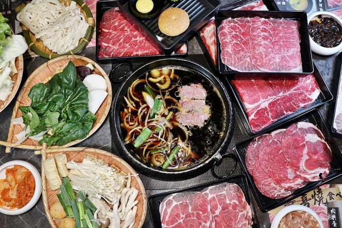 壽喜燒一丁 吃到飽只要408元起 無限量供應八種現切肉品 蔬菜 甜點選擇豐富 高品質 台中美食推薦