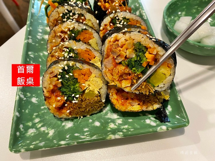 首爾飯桌|超人氣平價韓式料理 飯捲、鍋物都必吃 鄰近教育大學 台中韓式 西區美食(菜單,價錢)