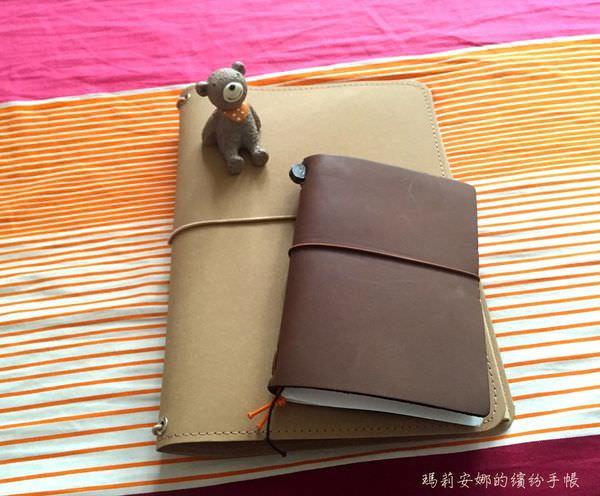 手帳開箱|Cultu-re筆記本套與MUJI筆記本