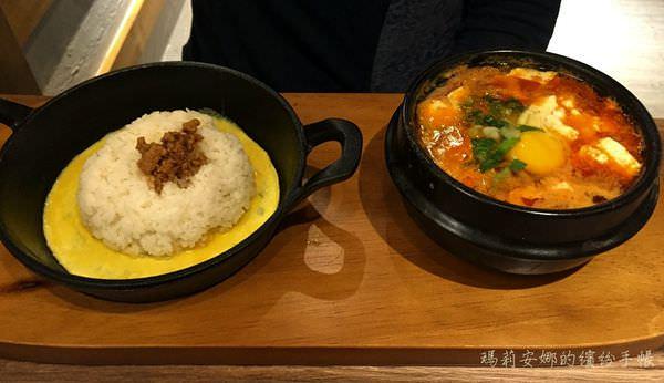 台中北區美食|北村豆腐家豆腐煲 鐵拌飯 韓料理@中友百貨