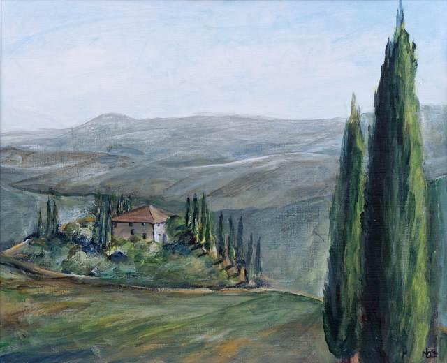 2003 - Toscana, 60x50cm, Acryl