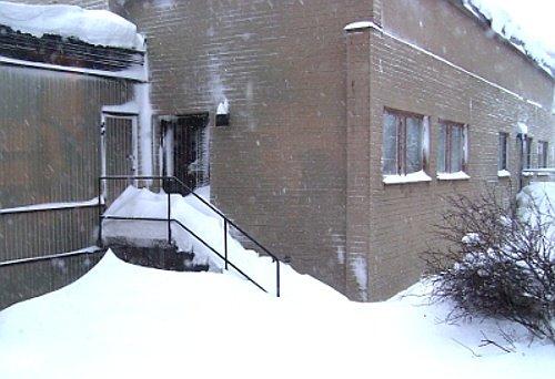 Utsikt från mitt fönster på VFC (Vårdvetenskapligt forskningscentrum) på USÖ (Universitetssjukhuset Örebro).