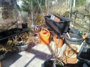 Växthuset redo för sommaren