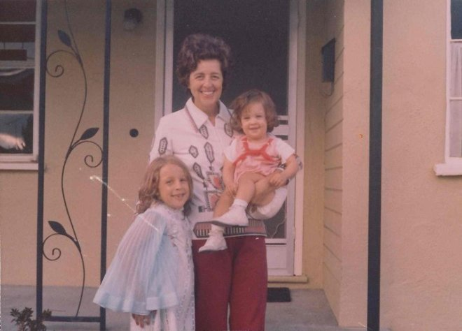 Me, Danielle and Mom