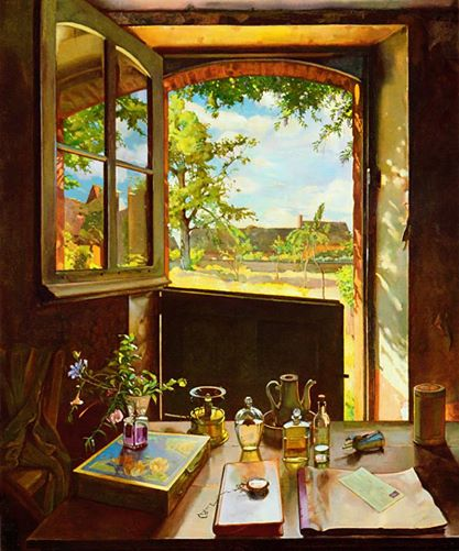 © Konstantin Somov - Open door on a garden (all rights reserved)