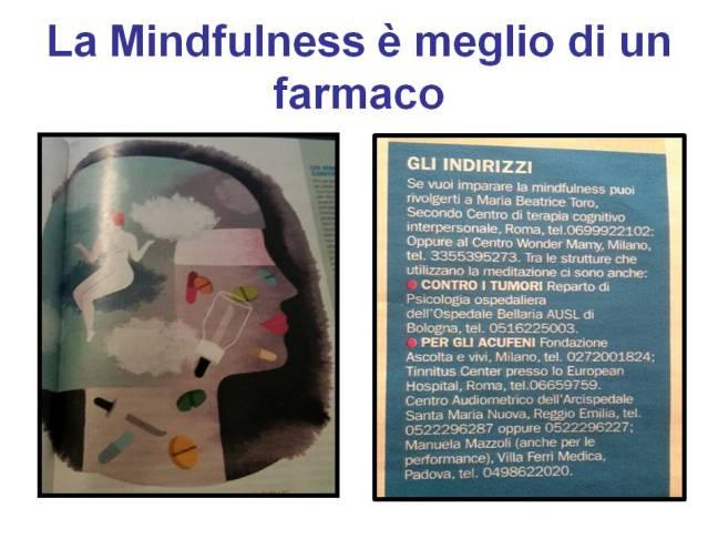 la mindfulness è meglio di un farmaco