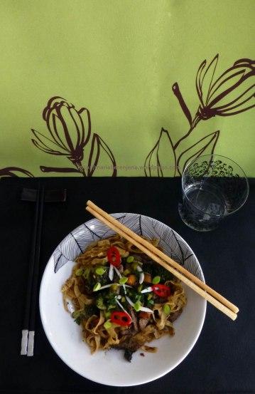 Los Noodles de Ching-He-Huang