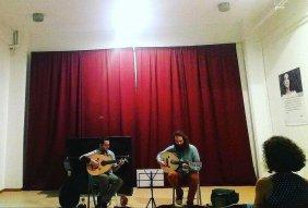 "Taxiarxis Georgoulis and Nikolas Palaiologos / ""enhorda"" Concert"