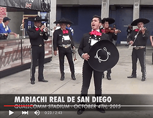 Chargers Game – Pre Game Performance (2015)