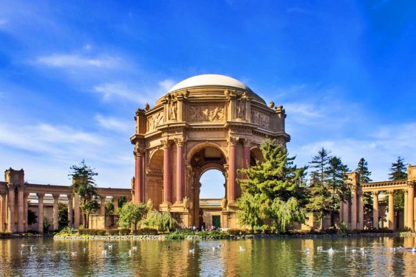 Palace of Fine Arts San Francisco Californai 3