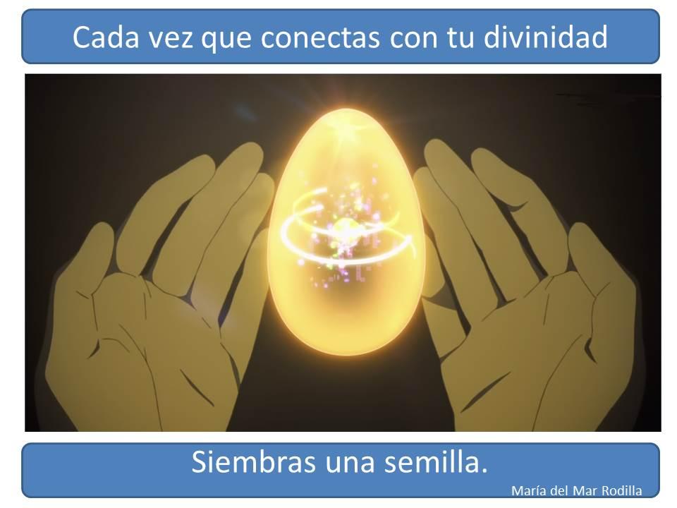 Cada vez que conectas con tu divinidad