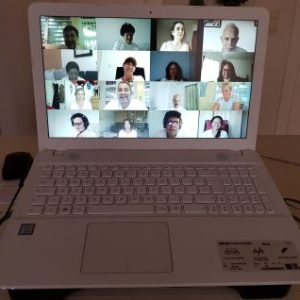 Curso online regístros akáshicos Portátil Videoconferencias