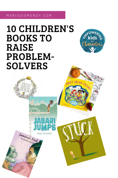 Children's Books To Raise Problem-Solvers Whether in the classroom, on the sports field, or at home, problem-solving helps kids thrive. These ten children's books promote everyday problem-solving and resiliency, whether the issue be a missing toy or a struggling friendship. #ChildrensBooks #PictureBooks #ProblemSolvers #BooksToRead #BooksWorthReading #CharacterTraits
