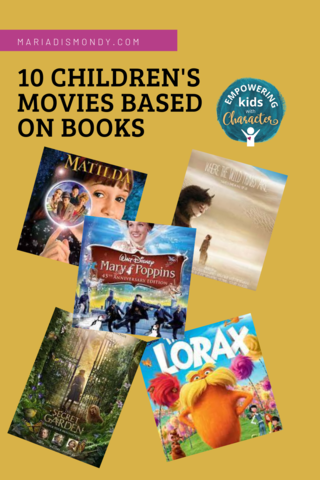Children's Movies Based On Books
