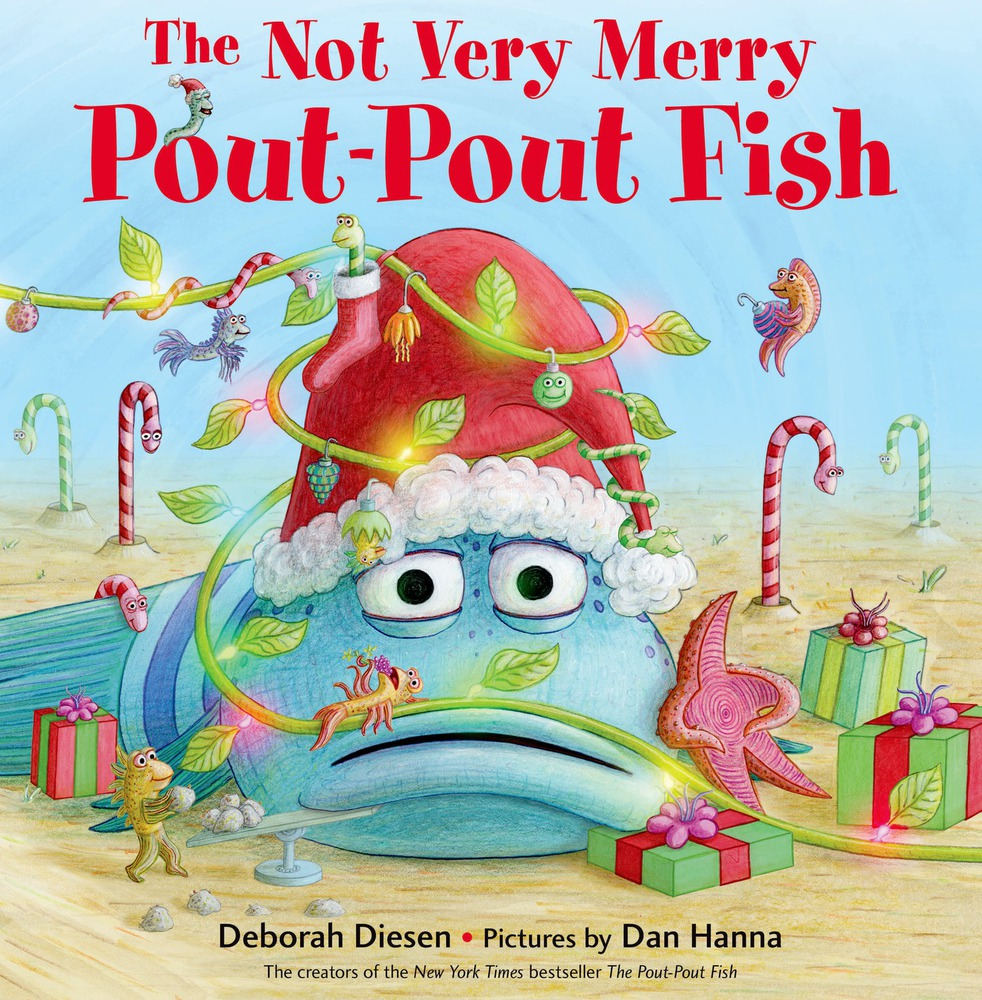 The NEW Pout Pout Fish Book- Giveaway