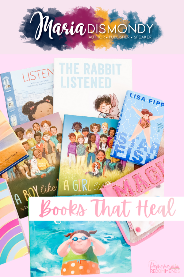 Picture Books That Heal. The following books I highly recommend to start building your home or classroom library to open the doors to loving each other and especially loving ourselves.#PictureBooks #BooksThatHeal #LoveYourself