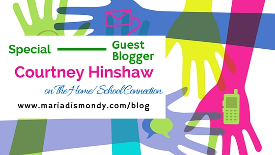 Guest Blogger-Courtney Hinshaw