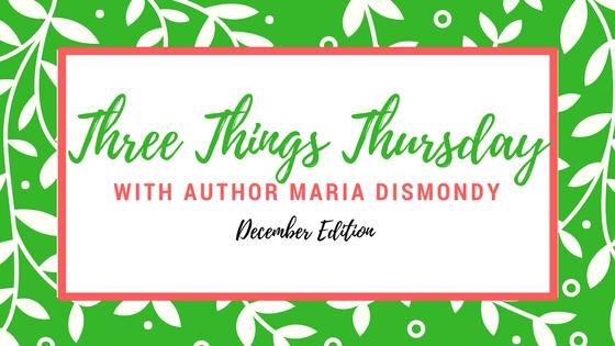 Three Things Thursday!