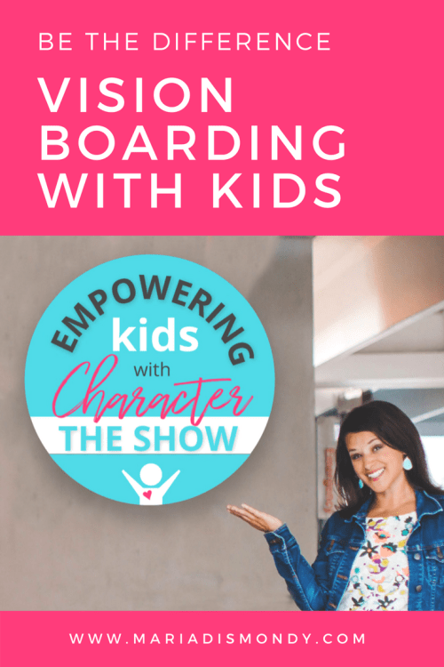 Vision Boarding with Kids