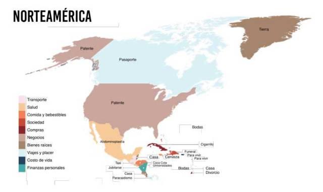 cuanto cuesta norteamerica