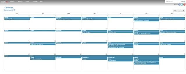daysto calendar
