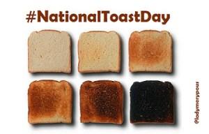#NationalToastDay, las mejores acciones en Twitter