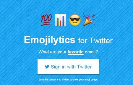 Emojilytics: ¿Qué emoji utilizas más en Twitter?