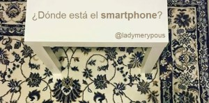 ¿Dónde está el smartphone?