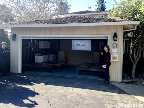 El garaje de los inicios de Google