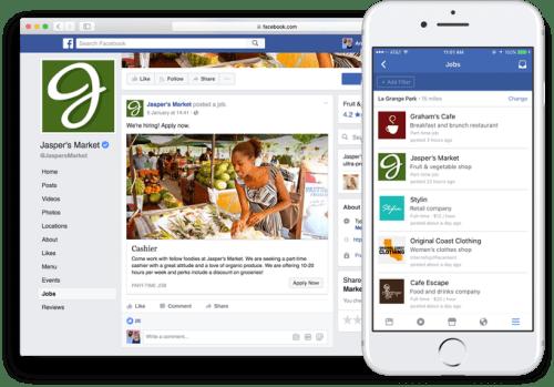 Facebook Jobs, cómo enviar ofertas de empleo en la red social de Mark Zuckerberg | Maria en la red