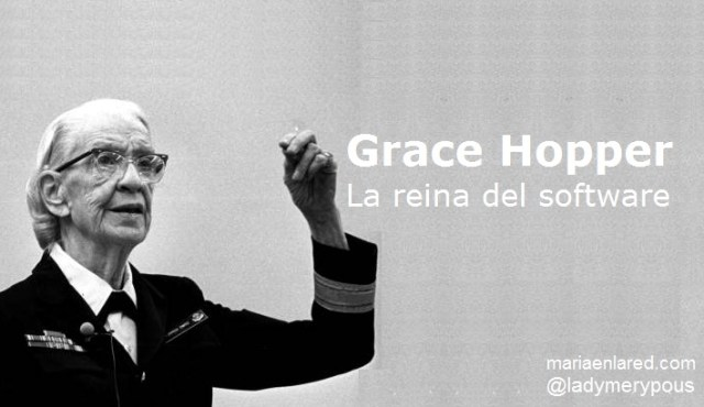 grace hopper la reina del software