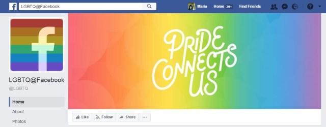 LGBT on Facebook Maria en la red