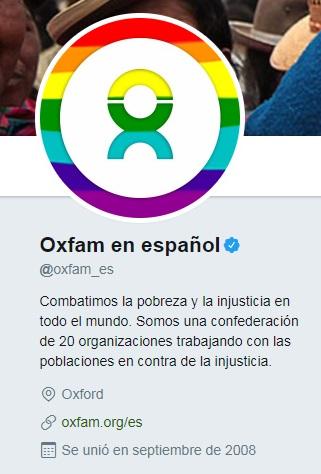 Oxfam también se une al Pride 2017