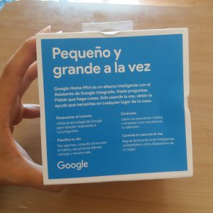 Unboxing Google Home Mini