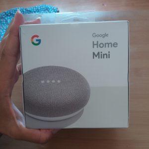 Unboxing Google Home Mini