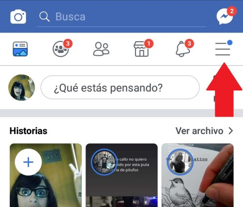 Cuanto tiempo pasas en Facebook Menu | Maria en la red