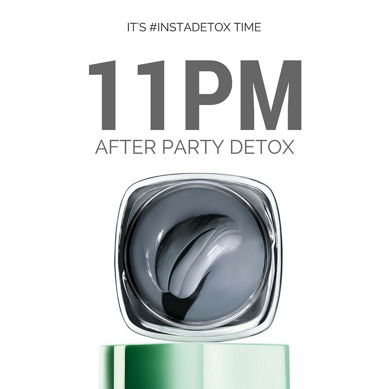 pure clay mask after party detox loreal multimasking