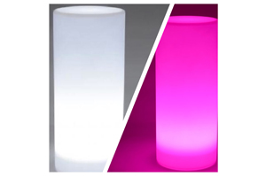 Centres de table Colonne LED Toutes couleurs 18€ pièce-