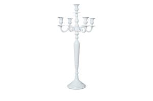Chandelier blanc géant - 25€-