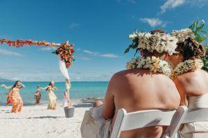 Mariage original Tahiti, cérémonie laïque, mariage plage, mariage Tahiti