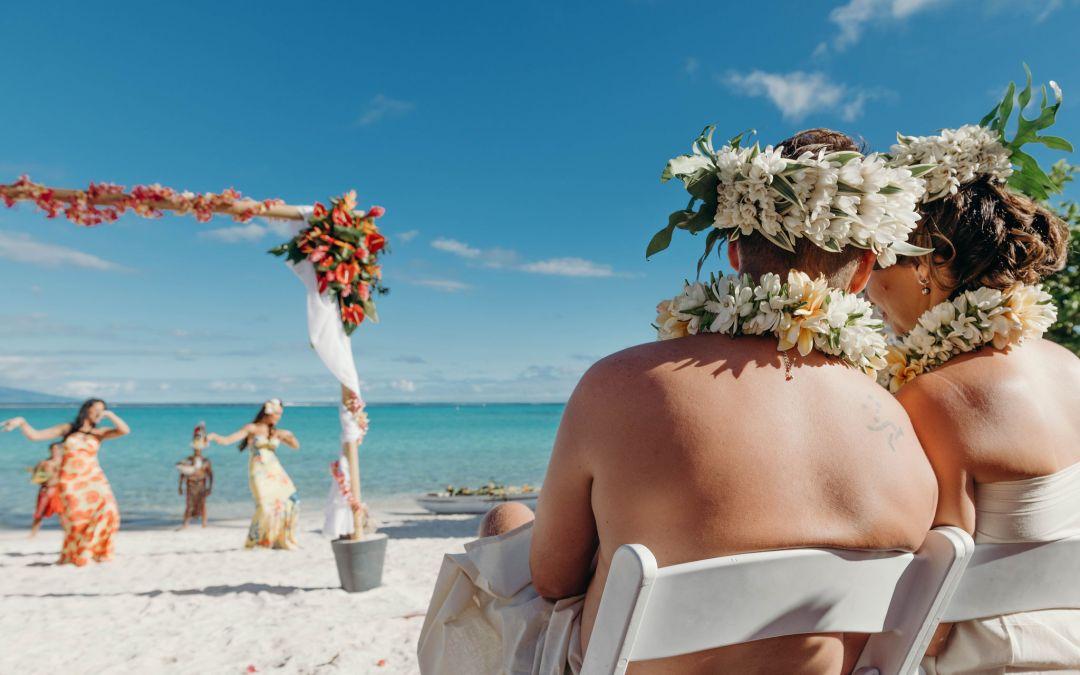 Un mariage original à Tahiti