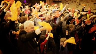 flashmob salle de reception Frossay Nantes Guermiton