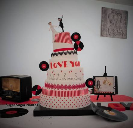 weddingcake, sugarsugar, la fashion, nantes, gateau de mariage, wedding cake, sugar sugar, artisant patissier, 44, 49, 85, 35, 56, gateau original, pate a sucre, cake toppers, gateau funky