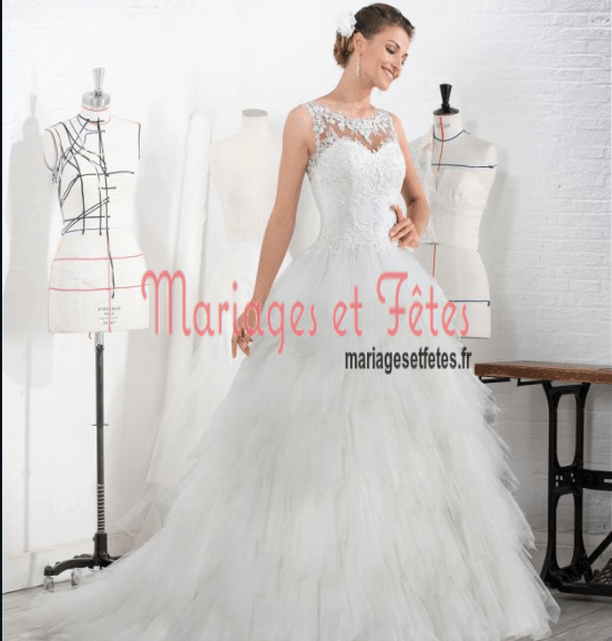 Robe mariage eglantine